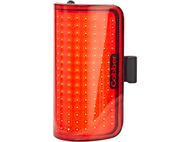 Knog Cobber Mid Faretto posteriore a LED, red/black